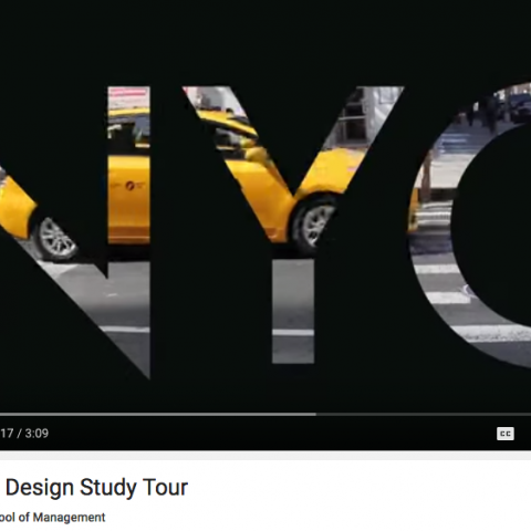 Rotman Design Study Tour Video